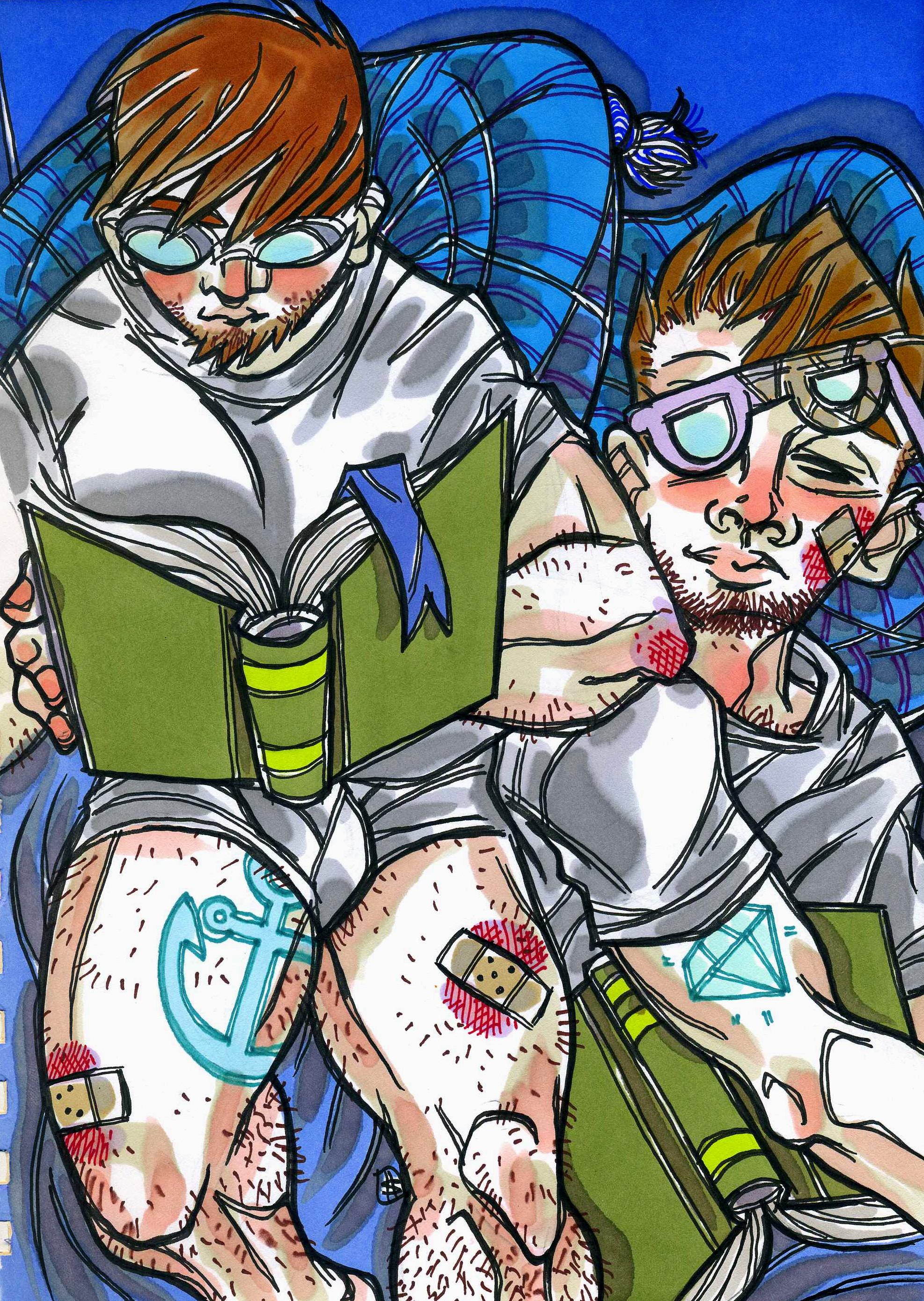 blue readers